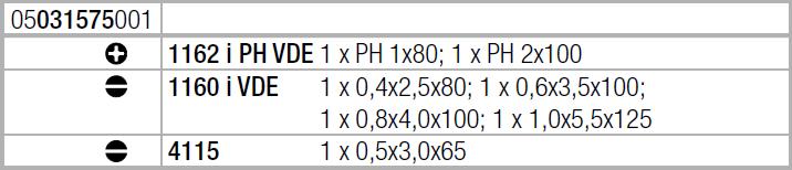 Набор отверток Kraftform Comfort VDE + индикатор напряжения (SL, PH) 1160 i/7 WERA 05031575001