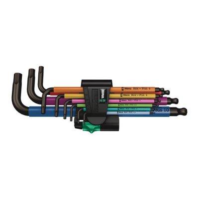 Набор Г-образных ключей, метрических, BlackLaser 950/9 Hex-Plus Multicolour 1 Wera 05022089001