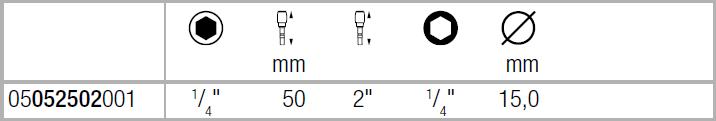 Универсальный битодержатель Rapidaptor 889/4/1 K 50мм WERA 05052502001
