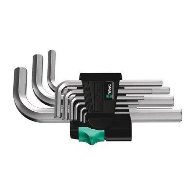 Набор Г-образных ключей, метрических, хромированных 950/9 SM N Wera 05021406001