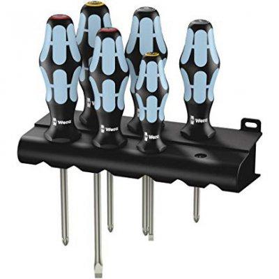 Набір викруток з нержавіючої сталі (SL, PH, PZ) WERA 05032063001