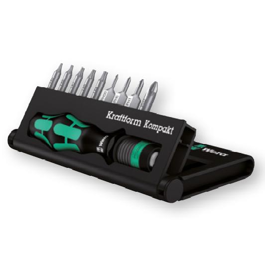 Отвертка с набором насадок для электроники Kompakt 12 WERA 05135942001