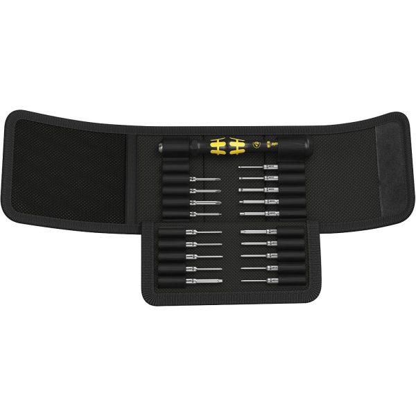 Отвёртка с набором насадок для электронщиков Kraftform Kompakt Micro 20 ESD 1 WERA 05073671001