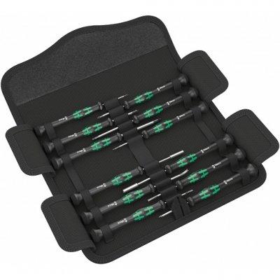 Набор отверток для электронщиков Kraftform Micro 12 Electronics 1 (включает TORX PLUS® IPR и Microstix®) WERA 05073677001