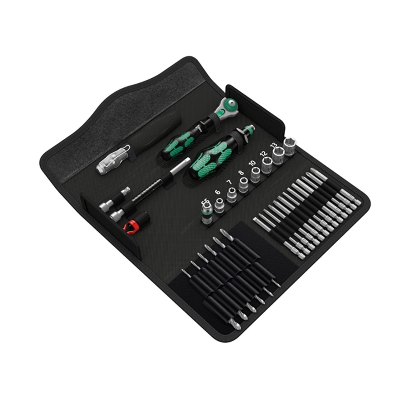 Набор Kraftform Kompakt M1 для работы по металлу WERA 05135928001