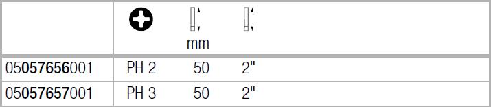 Бита Philips Impaktor 851/4 IMP DC WERA