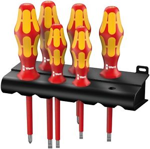 Набор отверток Kraftform Plus Серия 100 + подставка (SL, PH) 160 i/6 Rack WERA 05006145001