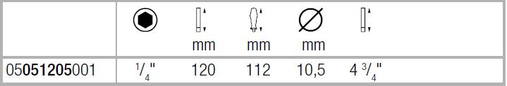 Ручка-битодержатель 812/1 с сильным магнитом WERA 05051205001