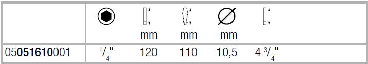Комбинированный винтоверт 819/1 с сильным магнитом WERA 05051610001