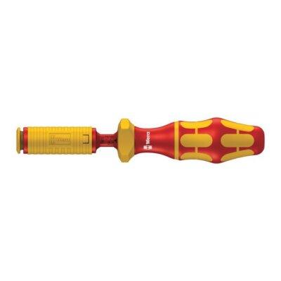 Динамометрическая ручка-держатель для вставок Kraftform Kompakt VDE 1,2-3,0 Nm WERA 05074750001