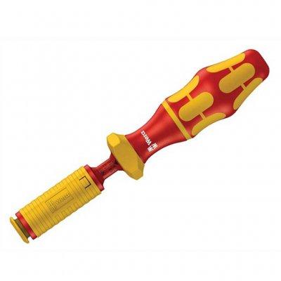 Динамометрическая ручка-держатель для вставок Kraftform Kompakt VDE 0,3-1,2 Nm WERA 05074752001