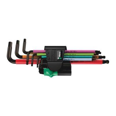 Набор Г-образных ключей, метрических, BlackLaser 950/7 Hex-Plus Multicolour Magnet 1 WERA 05022534001