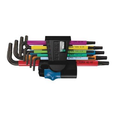 Набор Г-образных ключей с фиксирующей функцией 967/9 TX Multicolour HF 1 WERA 05024179001