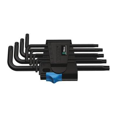 Набор Г-образных ключей с фиксирующей функцией, BlackLaser 967/9 TX HF 1 WERA 05024244001