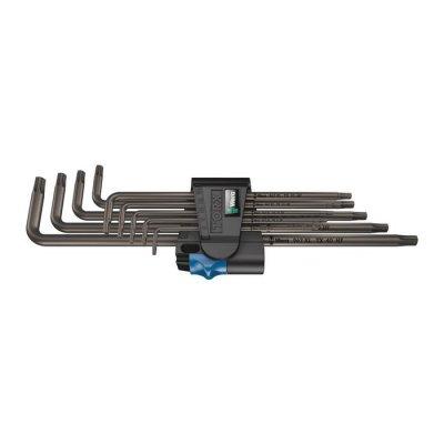 Набор Г-образных ключей с фиксирующей функцией, удлиненный 967/9 TX XL HF 1 WERA 05024450001