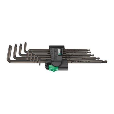 Набор Г-образных ключей, цинковое фосфатирование, удлиненный 967/9 TX XL 1 TORX® WERA 05024460001