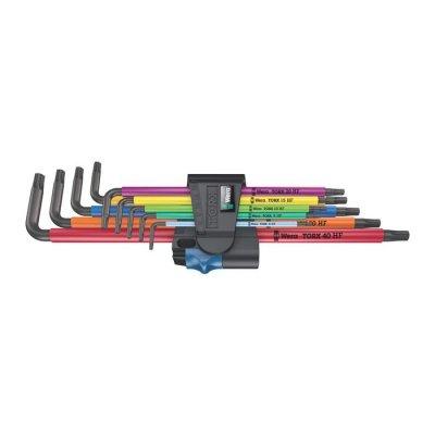 Набор Г-образных ключей с фиксирующей функцией, удлиненный 967/9 TX XL Multicolour HF 1 WERA 05024470001