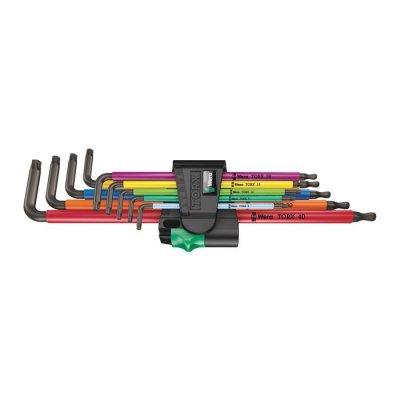 Набор Г-образных ключей, удлиненный 967/9 TX XL Multicolour 1 WERA 05024480001