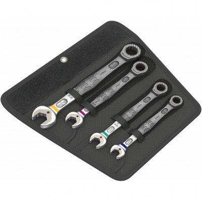 Набор гаечных ключей с трещоткой Joker, дюймовых, 4 шт WERA 05073295001