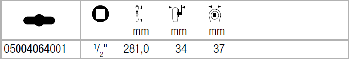 "Zyklop Metal 8004 C  - трещотка, переключение реверса, привод 1/2"" WERA 05004064001"