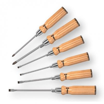 930/935/6 Набор отверток с деревянной ручкой (SL, PH) WERA 05018251001
