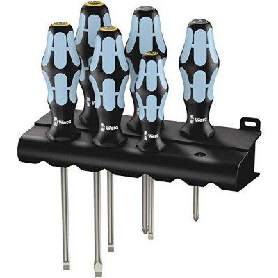 Набір викруток з нержавіючої сталі (SL, PZ) WERA 05032061001