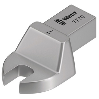 Насадка-рожковый ключ 7770, привод 9x12 мм, WERA