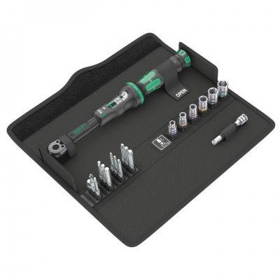 Набор с динамометрическим ключом Click-Torque A 6 Set 1 (2,5-25 Нм) WERA 05130110001