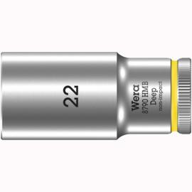 Торцовая головка 3/8″ удлинённая 8790 HMB Deep 22 мм WERA 05004544001