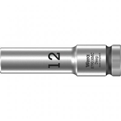 Торцовая головка 1/2″ удлинённая 8790 HMC Deep 12 мм WERA 05004552001