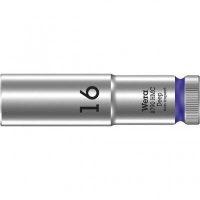 Торцовая головка 1/2″ удлинённая 8790 HMC Deep 16 мм WERA 05004556001