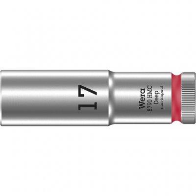 Торцовая головка 1/2″ удлинённая 8790 HMC Deep 17 мм WERA 05004557001
