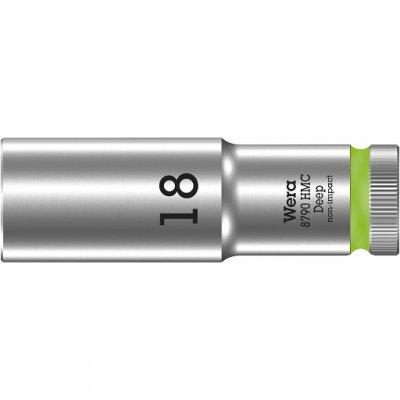 Торцовая головка 1/2″ удлинённая 8790 HMC Deep 18 мм WERA 05004558001