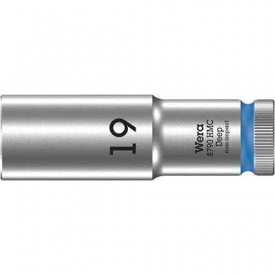 Торцовая головка 1/2″ удлинённая 8790 HMC Deep 19 мм WERA 05004559001