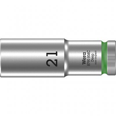 Торцовая головка 1/2″ удлинённая 8790 HMC Deep 21 мм WERA 05004561001