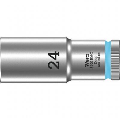 Торцовая головка 1/2″ удлинённая 8790 HMC Deep 24 мм WERA 05004563001