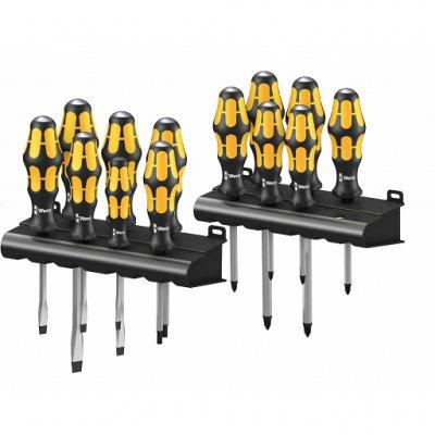 Набор ударных отверток Big Pack 900 (SL, PH, PZ, TX) WERA 05133285001