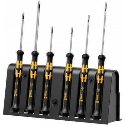 Набор отверток для электронщиков с электростатической защитой ESD (SL, PH) WERA 05030170001