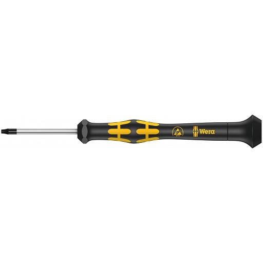 Отвёртка TORX® HF (с фиксирующей функцией) для электронщиков Kraftform Micro ESD TX4х40 мм WERA 05030400001