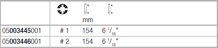 Вставка Kraftform Kompakt VDE для винтов PlusMinus Pozidriv/шлиц PZ/S1х154 WERA 05003445001