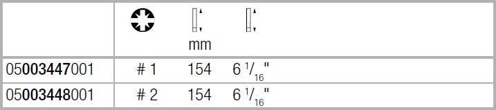 Вставка Kraftform Kompakt VDE для винтов PlusMinus Pozidriv/шлиц с зауженным рабочим концом PZ/S2х154 WERA 05003448001
