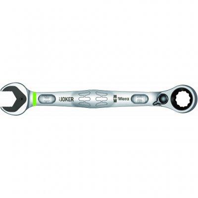 Комбинированный гаечный ключ с реверсной трещоткой Joker Switch 18 мм WERA 05020073001