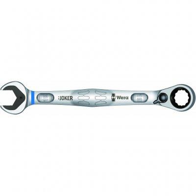 Комбинированный гаечный ключ с реверсной трещоткой Joker Switch 19 мм WERA 05020074001