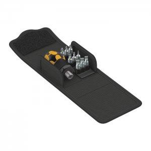 Набор бит с короткой/карбюраторной отвёрткой Kraftform Kompakt Stubby ESD 1 (SL, PH) WERA 05057472001