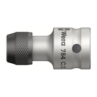 Переходник с приводом 1/2″ с быстрозажимным патроном для бит 5/16″ WERA 05042768001