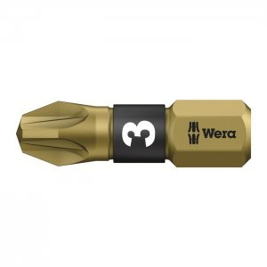 Бита торсионная, сверхтвёрдое исполнение PZ3х25 мм WERA 05056714001