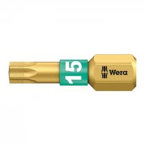 Бита с алмазным покрытием TX15х25 мм WERA 05066102001