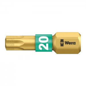 Бита с алмазным покрытием TX20х25 мм WERA 05066104001