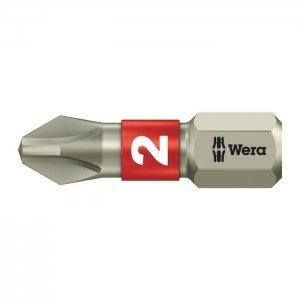 Бита из нержавеющей стали PH2х25 мм WERA 05071011001