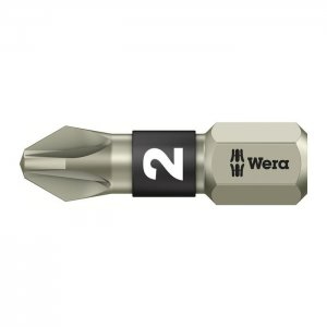 Бита из нержавеющей стали PZ2х25 мм WERA 05071021001